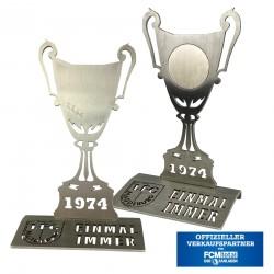 1.FCM Edelstahl Fan Pokal