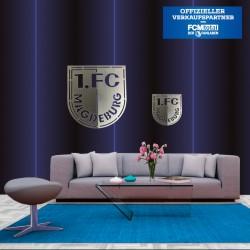 1.FCM Logo in Edelstahl