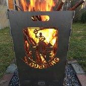 Feuerkorb im Design Magdeburg